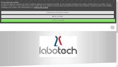 Site internet de Labotech