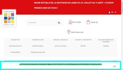 Site internet de La Boule Rouge