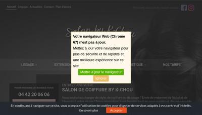 Site internet de K Chou