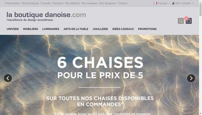 Site internet de La Boutique Danoise