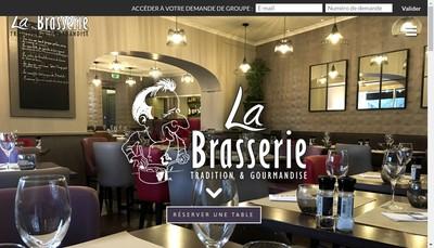 Site internet de La Brasserie