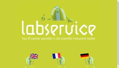 Site internet de Labservice