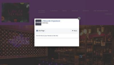 Site internet de L'Absurde Imposture