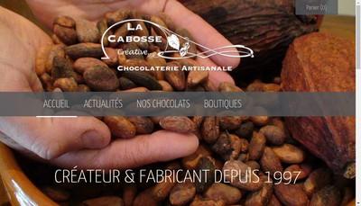 Site internet de La Cabosse Creative