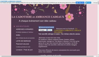 Site internet de La Cadotiere