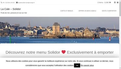Site internet de La Cale