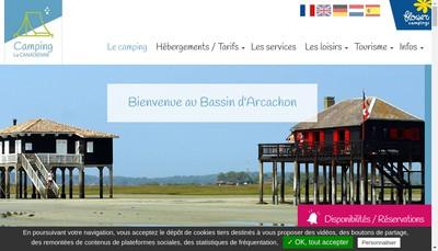 Site internet de Camping la Canadienne