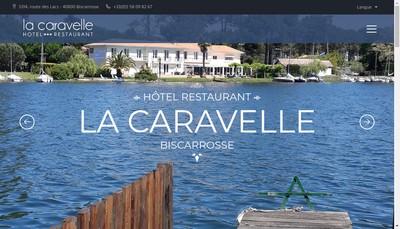 Site internet de La Caravelle