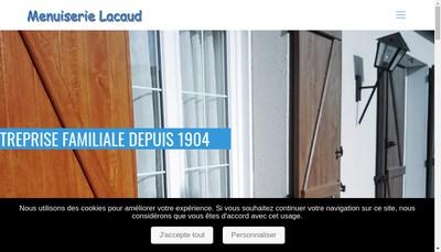 Site internet de SARL Lacaud