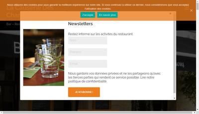 Site internet de La Causerie des Chartrons
