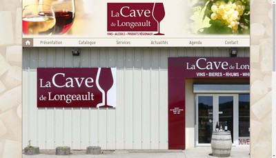 Site internet de La Cave de Longeault