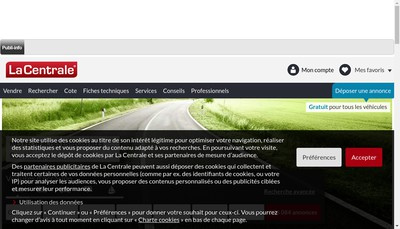 Site internet de Truckouest