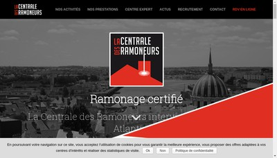 Site internet de La Centrale des Ramoneurs