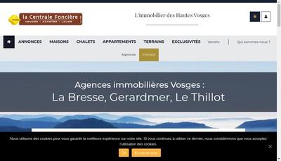 Site internet de Immo la Bresse