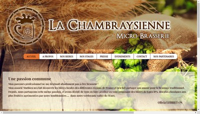 Site internet de La Chambraysienne