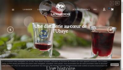 Site internet de Liqueurs de la Chanenche Haute