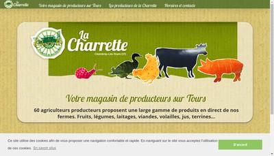 Site internet de La Charrette