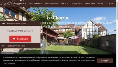 Site internet de Societe Exploitation Hostellerie Charrue