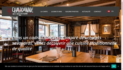 Site internet de La Chaudanne
