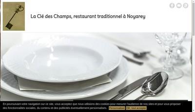 Site internet de La Cle Deschamps