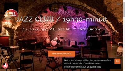 Site internet de Association la Clef de Voute du Jazz