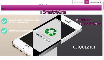 Site internet de Lacliniquedusmartphone Com