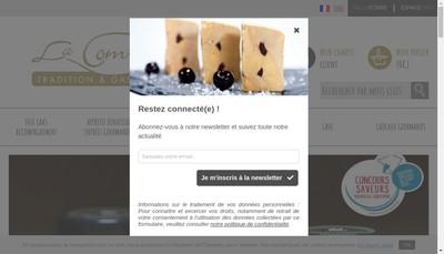 Site internet de La Combe de Job