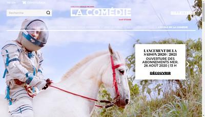Site internet de La Comedie de Saint-Etienne