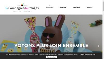 Site internet de La Compagnie des Images
