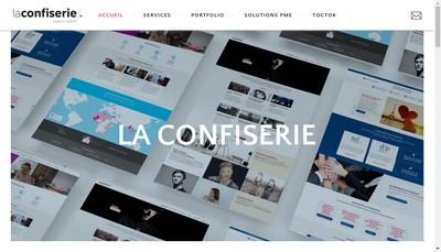Site internet de La Confiserie