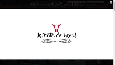 Site internet de La Cote de Boeuf