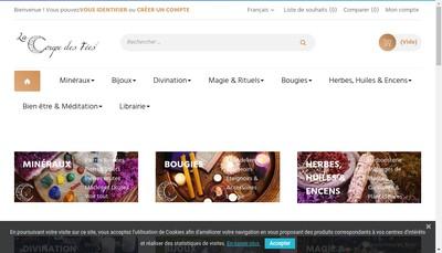 Site internet de La Coupe des Fees