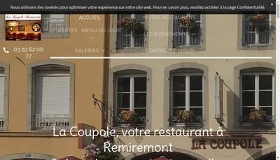 Site internet de La Coupole