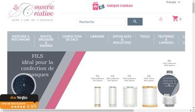 Site internet de La Couserie Creative
