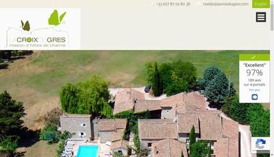 Site internet de La Croix du Gres