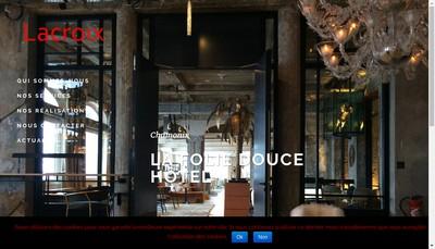 Site internet de Entreprise Lacroix