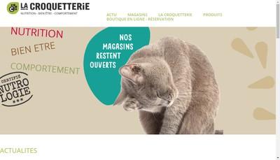 Site internet de La Croquetterie