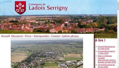 Site internet de Les Carrieres de Ladoix