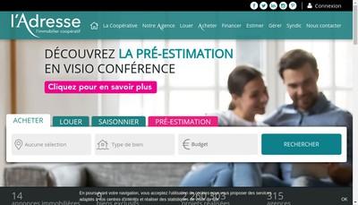 Site internet de Toit Immobilier Didot