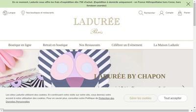 Site internet de Patisserie E Laduree