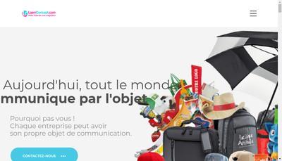 Site internet de Laeni Concept