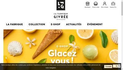 Site internet de La Fabrique Givree