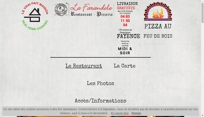 Site internet de La Farandole