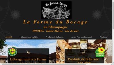 Site internet de SARL le Canard du Bocage