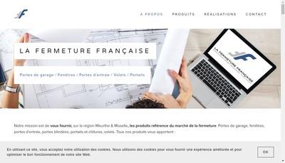 Site internet de La Fermeture Francaise