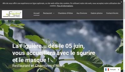 Site internet de Restaurant la Figuiere