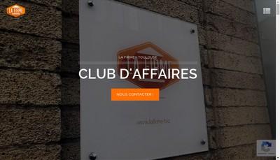 Site internet de La Firme