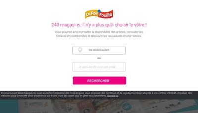 Site internet de La Foir' Fouille