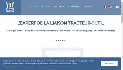 Site internet de La Forge