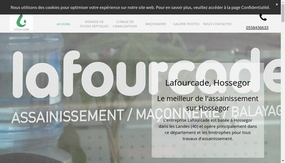 Site internet de Lafourcade